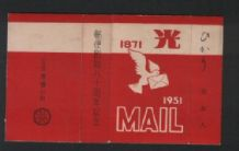 Very old cigarette packet Japan or China
